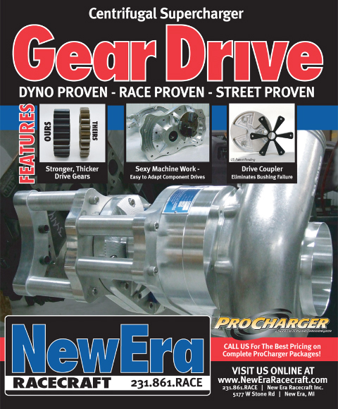 Centrifugal Supercharger Gear Drive, Dyno Proven - Race Proven - Street Proven