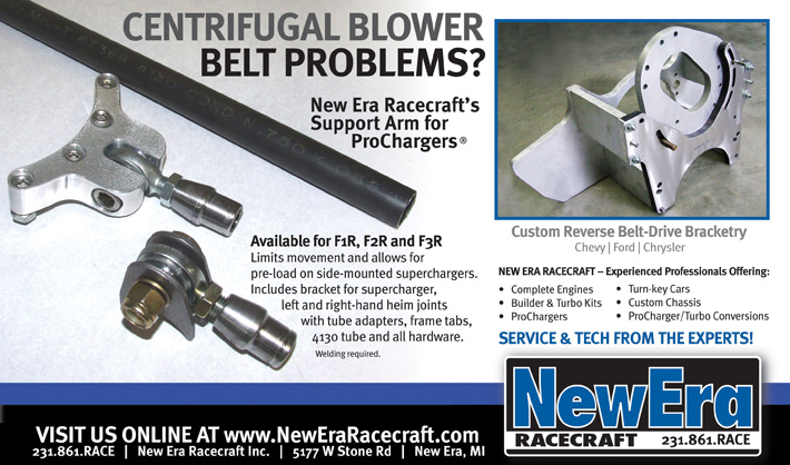 Centrifugal Blower Belt Problems? NER's Support Arm for ProChargers